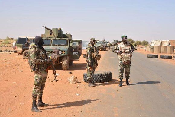 Mali : 4 terroristes abattus dans l'attaque d'un check-point