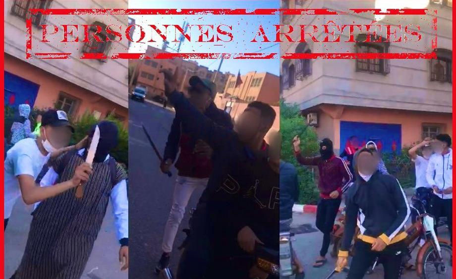 شريط فيديو يتضمن محتوى عنيف يقود ثلاثة أشخاص إلى قبضة أمن مراكش