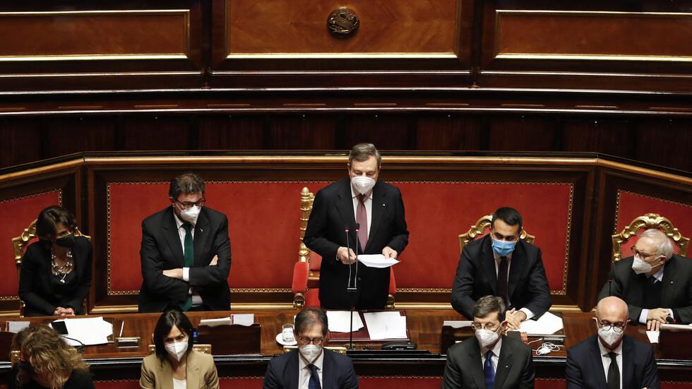 الحكومة الإيطالية الجديدة تنال ثقة مجلس الشيوخ