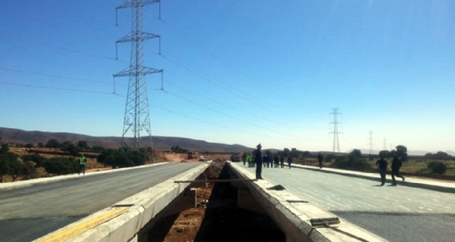 Les travaux de la voie express Tiznit-Dakhla vont bon train