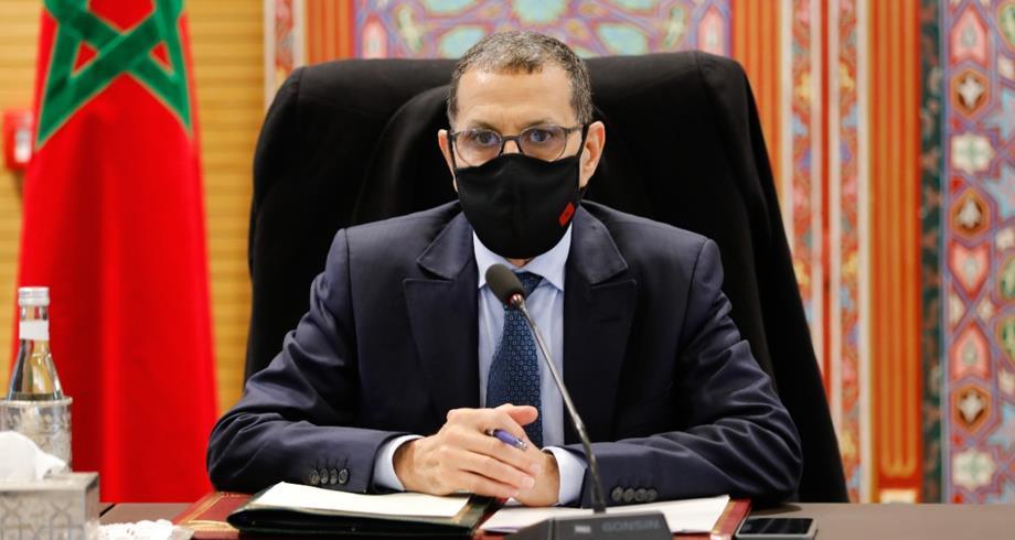 العثماني يستقبل رئيس المجلس الاقتصادي والاجتماعي والبيئي