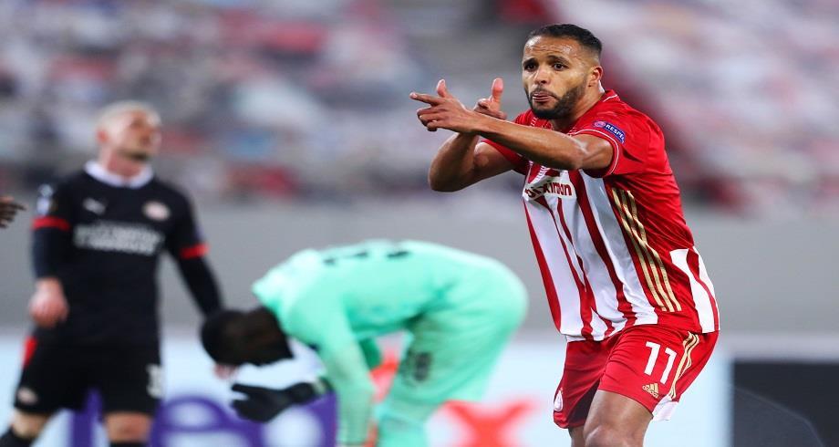 Ligue Europa: l'Olympiakos l'emporte face au PSV Eindhoven