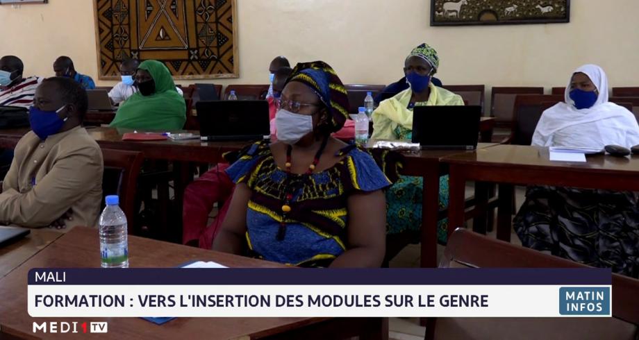 Mali: une formation pour l'insertion des modules sur le genre