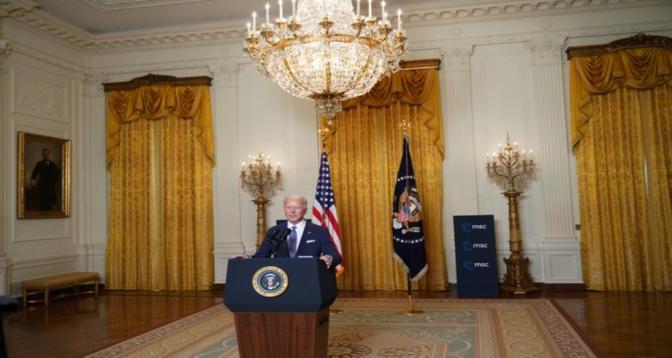 """Biden proclame le """"retour"""" de l'alliance transatlantique"""