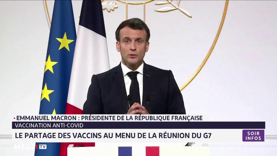 Vaccination anti-covid: le partage des vaccins au menu de la réunion du G7