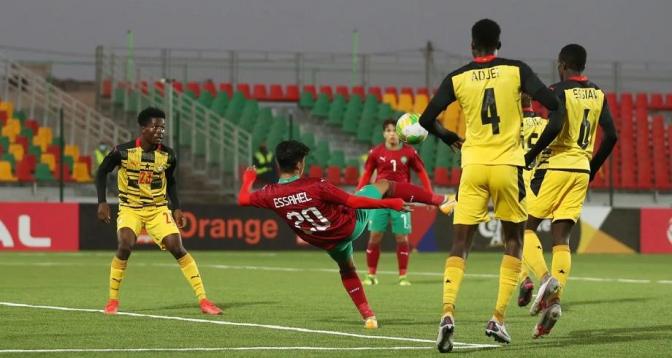 كأس أمم إفريقيا للشبان.. المنتخب المغربي يتعادل مع نظيره الغاني