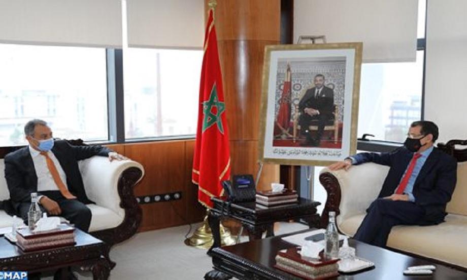 El Otmani reçoit le président du CESE