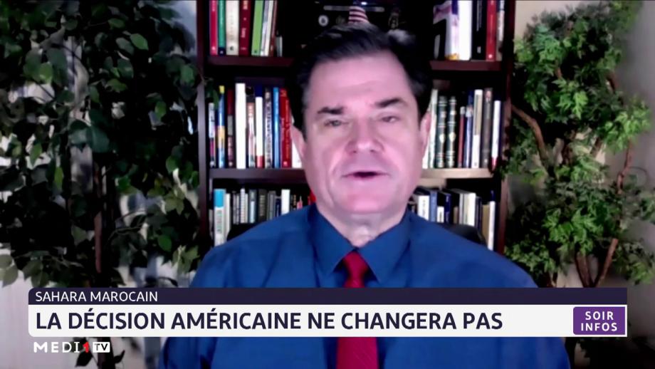 Sahara marocain: la décision américaine ne changera pas selon Georges Landrith