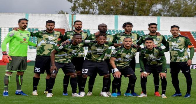 Botola Pro D1: défaite à domicile du Rapide Oued Zem face au Difaâ Hassani d'El Jadida