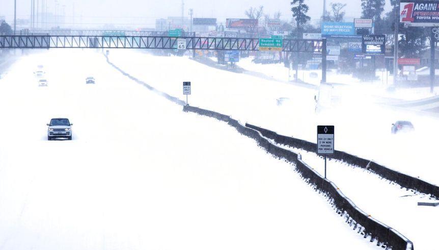 """موجة البرد: بايدن يوافق على إعلان تكساس منطقة """"كارثة كبرى"""""""