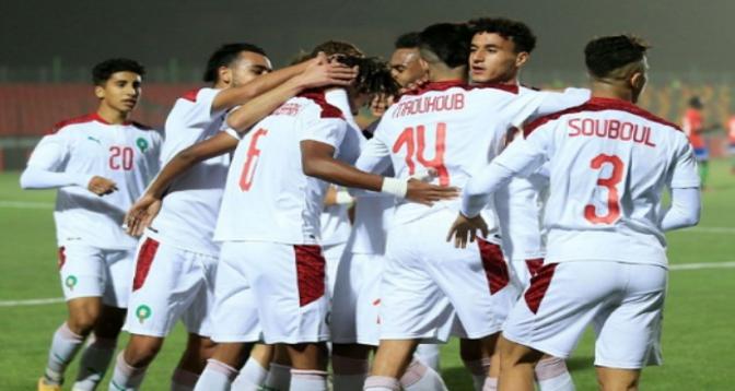 كأس إفريقيا للأمم لأقل من 20 سنة.. المنتخب المغربي يبلغ ربع النهائي