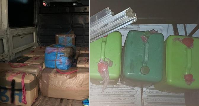 أمن طنجة يحبط محاولة للتهريب الدولي للمخدرات ويحجز 680 كلغ من الشيرا