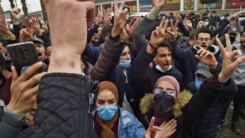الجزائر...تظاهرات للطلبة في العاصمة ومدن أخرى غداة الذكرى الثانية للحراك الشعبي