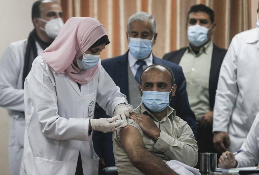 Gaza: coup d'envoi de la campagne de vaccination
