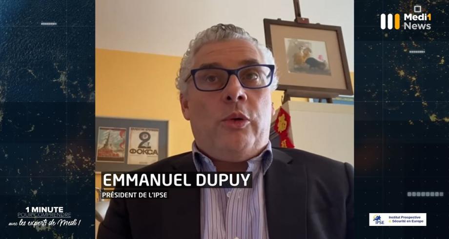 Libye: gouvernement d'union nationale et fragile espoir de paix. 1 minute pour comprendre avec Emmanuel Dupuy, Président de l'IPSE