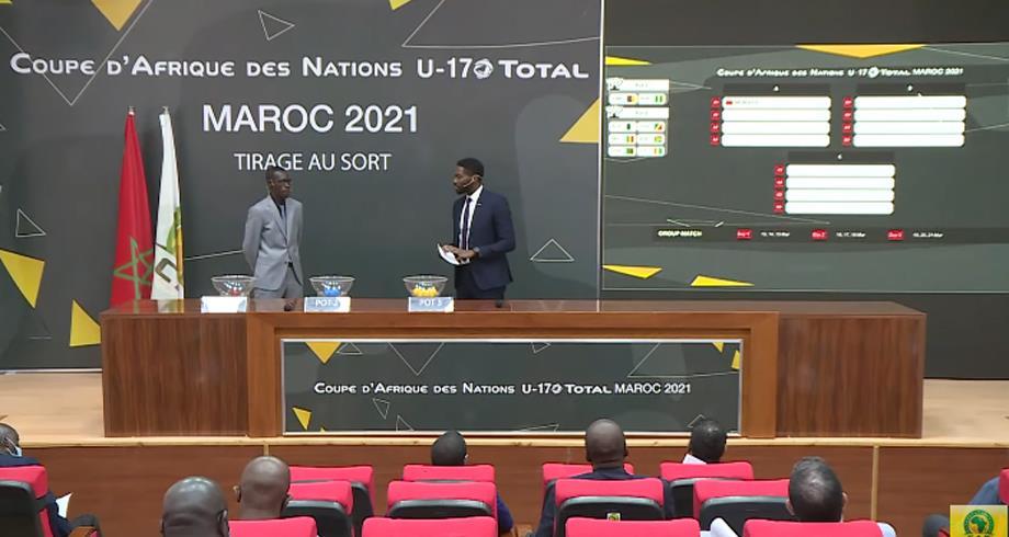 كأس إفريقيا للأمم لأقل من 17 سنة -المغرب 2021 .. المنتخب الوطني في المجموعة الأولى