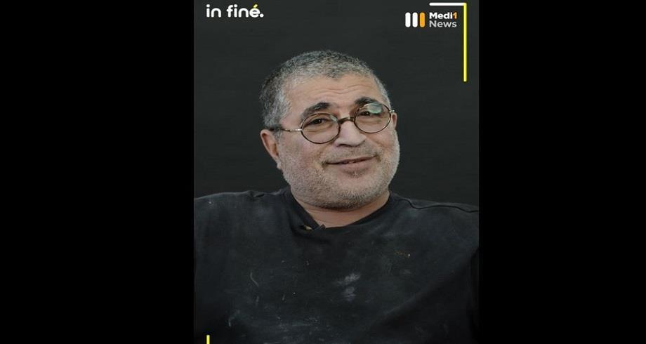 #In Finé: Portrait de Mahi Binebine, peintre, sculpteur et écrivain marocain