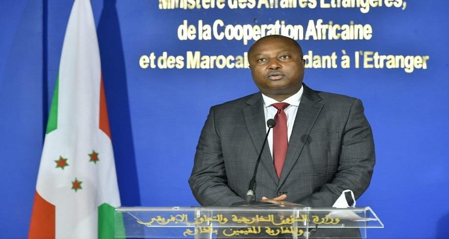 La République du Burundi réitère son appui à l'intégrité territoriale du Royaume et à son unité nationale