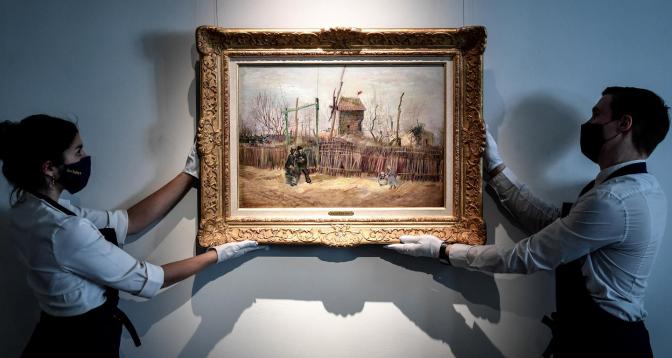لوحة من حقبة فان غوخ الباريسية تعرض للبيع
