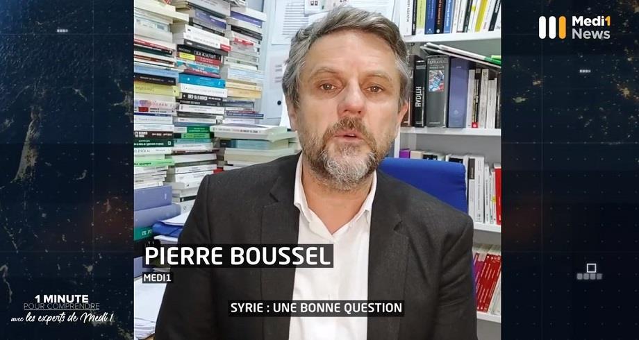 """""""Syrie : une bonne question"""" : 1 minute pour comprendre avec Pierre Boussel"""