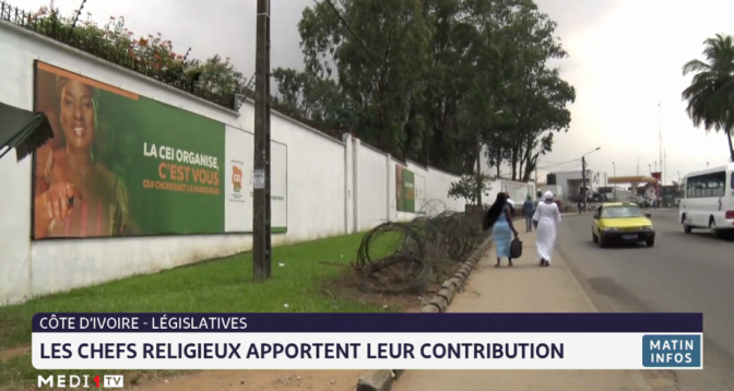Législatives en Côte d'Ivoire: les chefs religieux apportent leur contribution