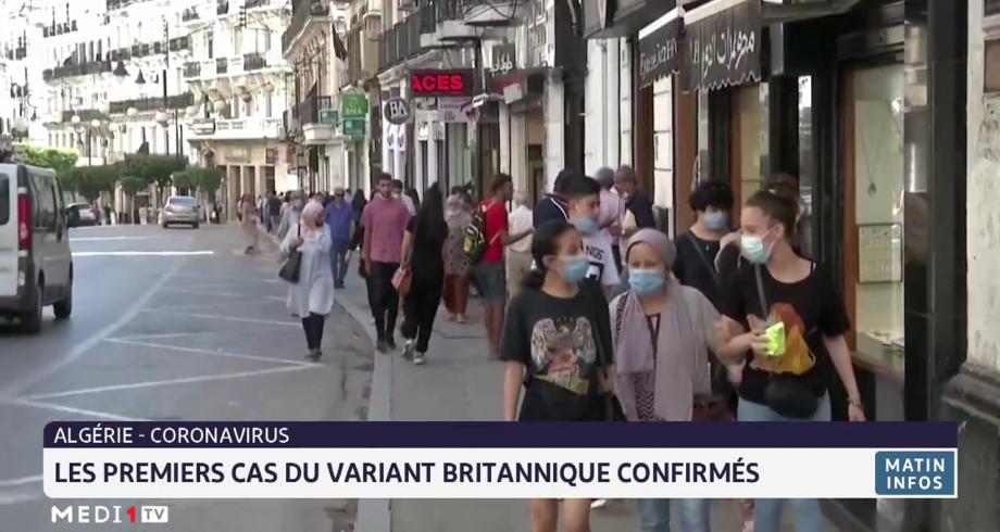 Algérie: les premiers cas du variant britannique confirmés
