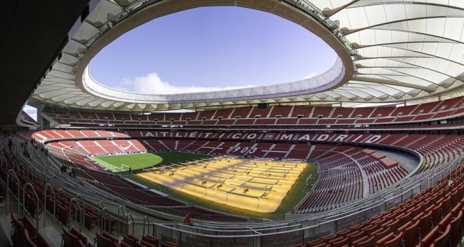 Espagne: le stade de l'Atletico de Madrid transformé en un centre de vaccination