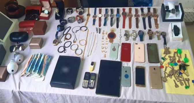 عصابة سرقة المنازل باستعمال مفاتيح مزورة في قبضة أمن الرباط