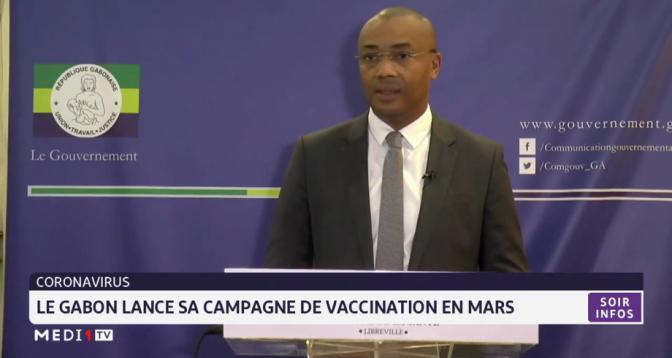 Coronavirus: le Gabon lance sa campagne de vaccination en Mars