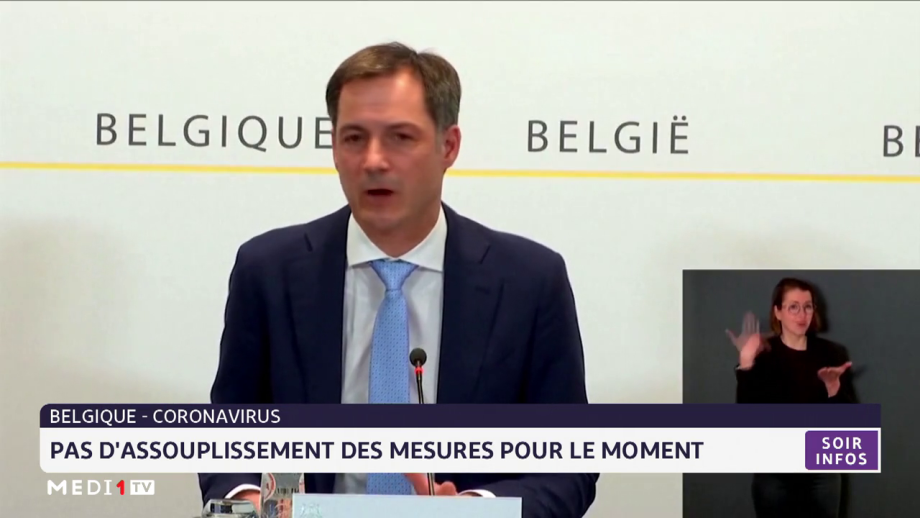 Belgique-Coronavirus: pas d'assouplissement des mesures pour le moment