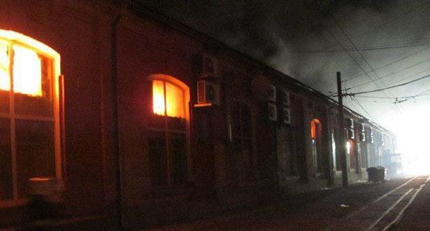 مصرع  تسعة أشخاص في حريق بفندق بمدينة أوديسا الأوكرانية