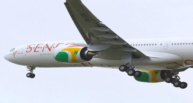 """""""Air Sénégal"""" renforce sa flotte par un nouvel Airbus A321"""