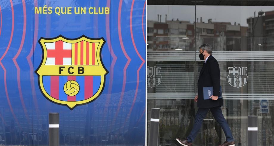 أول تعليق من نادي برشلونة بعد مداهمة الشرطة لمقره