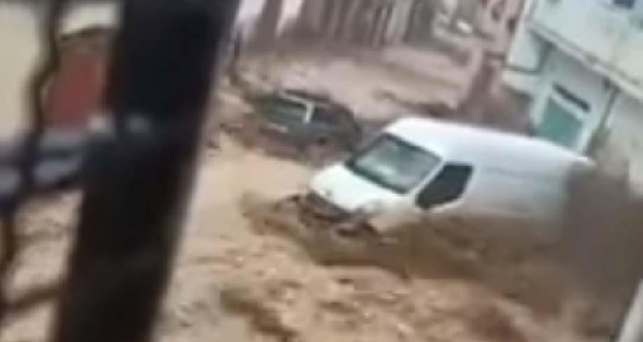 إحصاء الخسائر المادية بعد التساقطات المطرية في تطوان