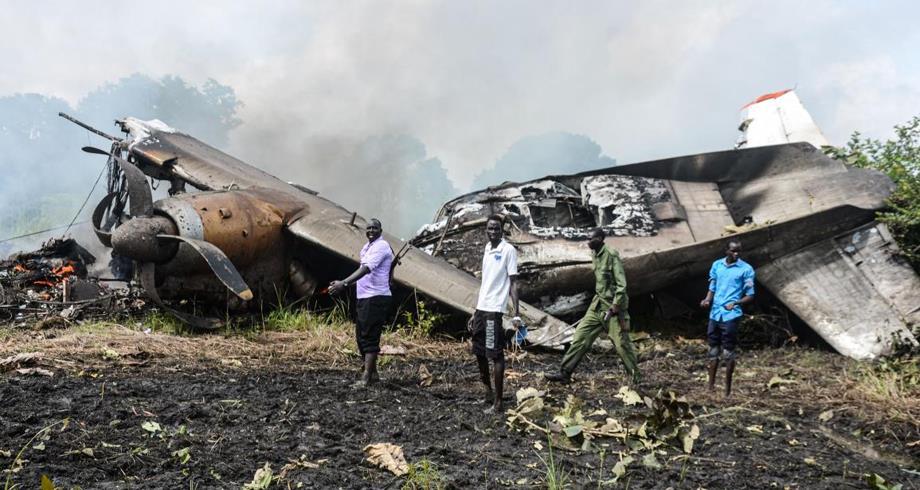مقتل عشرة أشخاص في تحطم طائرة ركاب في جنوب السودان