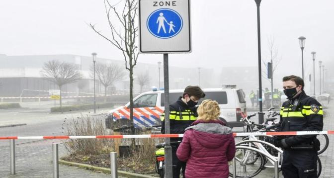 Pays-Bas: Explosion près d'un centre de dépistage du coronavirus, pas de blessés