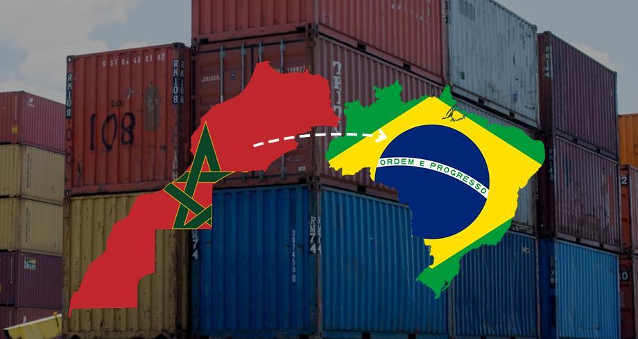 المغرب يتصدر قائمة البلدان المصدرة للبرازيل خلال يناير
