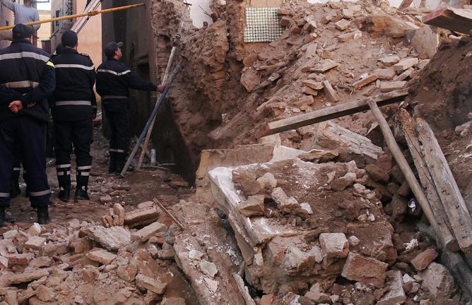 Béni Mellal : un mort dans l'effondrement partiel d'une maison à l'ancienne médina