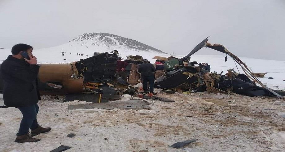 Turquie: le mauvais temps à l'origine du crash d'un hélicoptère militaire qui a fait 11 morts