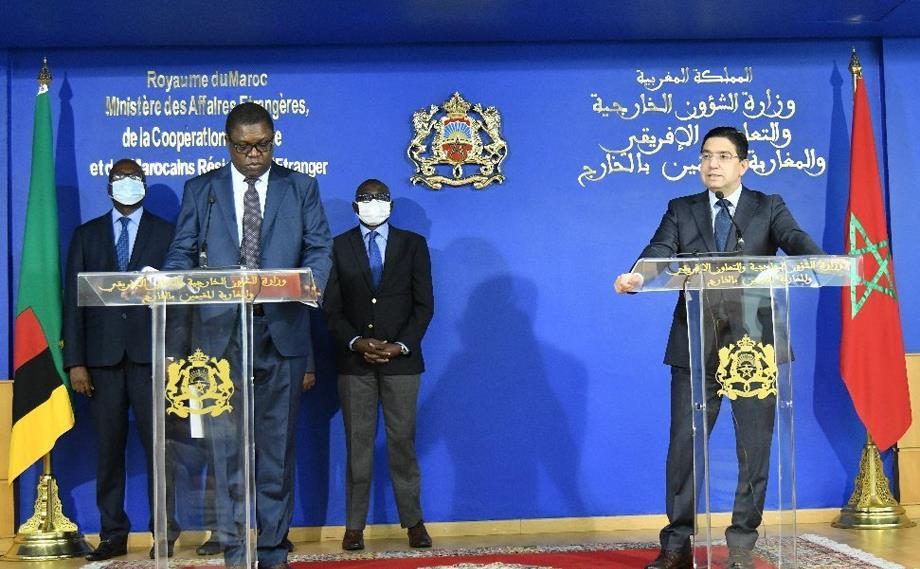 """بوريطة: موقف زامبيا من قضية الصحراء المغربية ما زال """"ثابتا"""" و""""إيجابيا"""""""