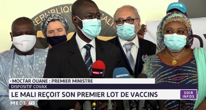 Covid-19: le Mali reçoit son premier lot de vaccins