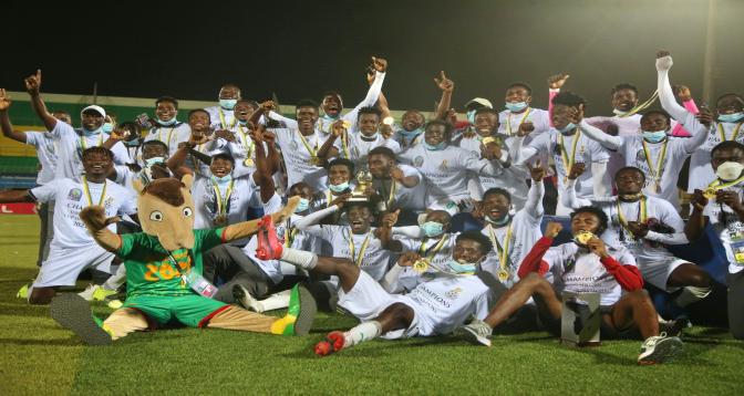 CAN U20: le Ghana sacré pour la quatrième fois de son histoire