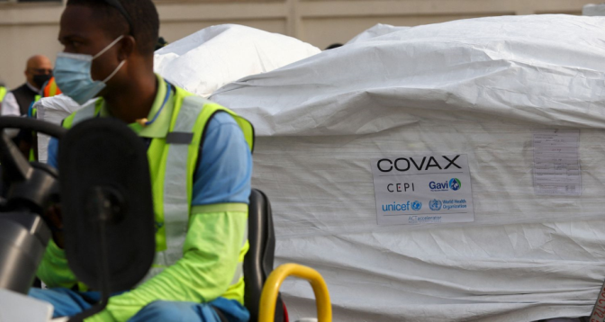 Covax : l'Ethiopie reçoit une première livraison de vaccins.