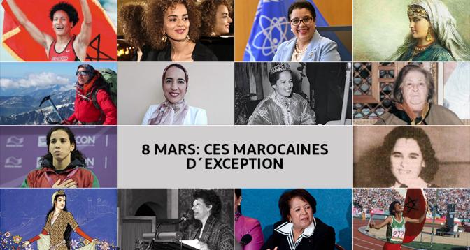 8 mars: ces Marocaines d'exception