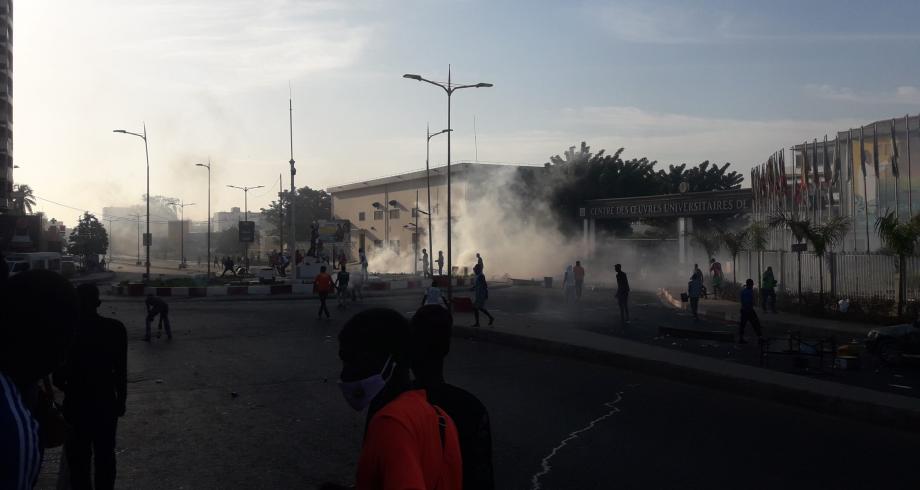 الاتحاد الإفريقي يدين أعمال العنف والنهب في عدة مدن بالسنغال