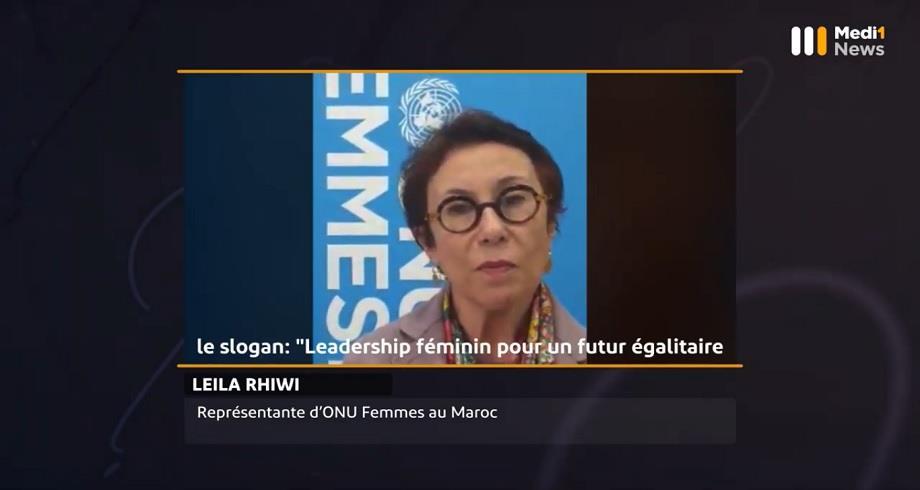 #Questionsà Leila Rhiwi, représentante d'ONU-Femmes au Maroc