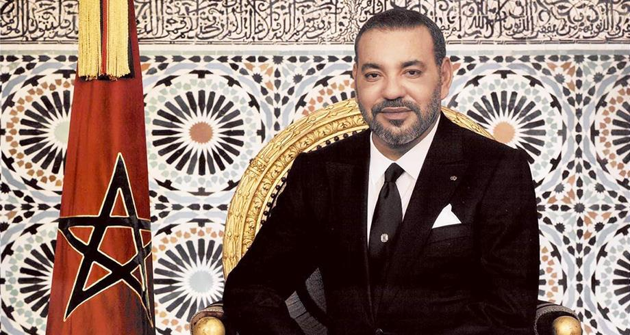 """برقية تعزية ومواساة من الملك محمد السادس إلى أفراد أسرة المرحوم البشير بن يحمد مؤسس مجلة """"جون أفريك"""""""