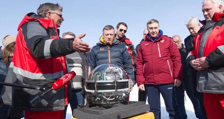 إطلاق تلسكوب فضائي روسي عملاق في قاع بحيرة بايكال