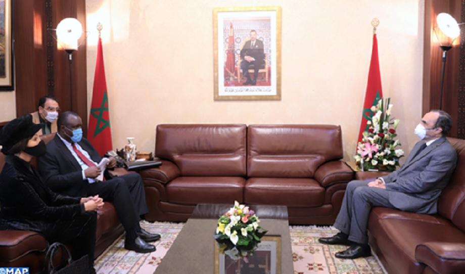 Le président intérimaire du Parlement panafricain salue le leadership du Roi Mohammed VI dans la lutte contre le coronavirus