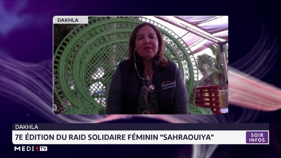 """Dakhla: 7e édition du raid solidaire féminin """"Sahraouiya"""""""